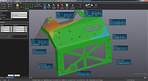 HandySCAN 3D掃描器搭配軟體-VXinspect 品質管理軟體