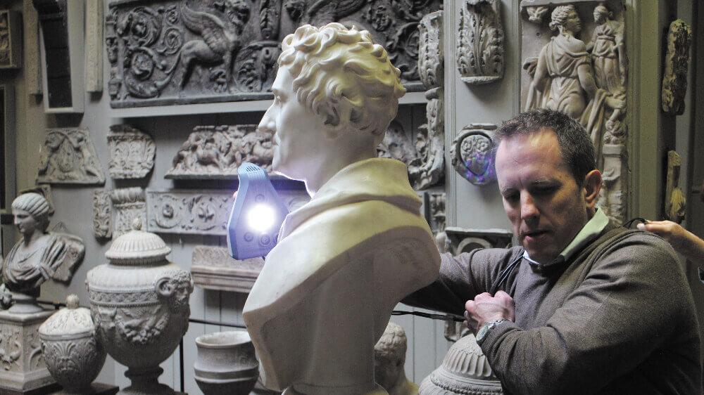 Artec 3D適於應用在3D文物保存與數位典藏領域