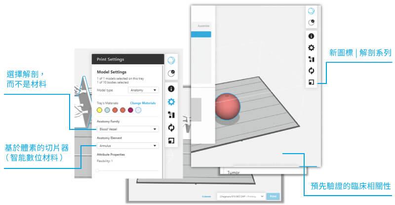 3D列印切片軟體-醫療解剖學專用