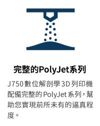 J750 DAP 醫療模型3D列印機獨有的三種新型材料可創建特定醫療3D模型