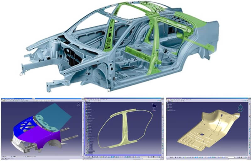 CATIA V5 PLM Express-CAT3DX HDX機械形狀設計
