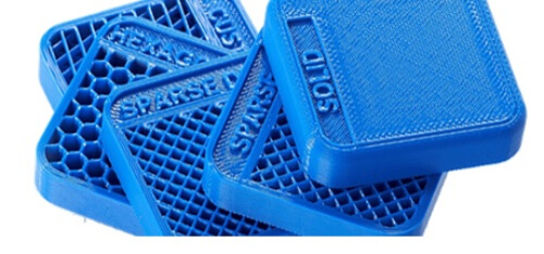Stratasys FDM 3D列印切層軟體Insigh 填充風格